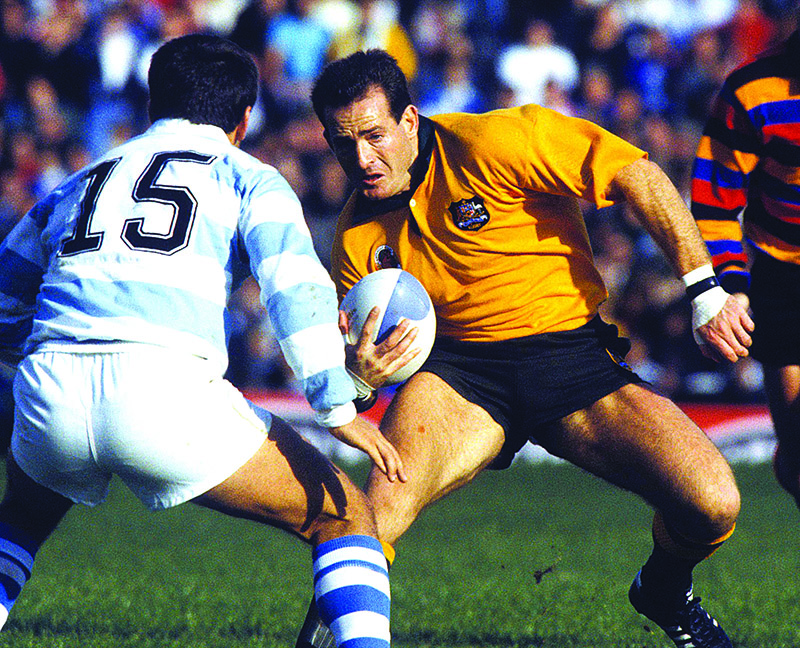 Rugby World Cup 1991, Argentina v Australia.