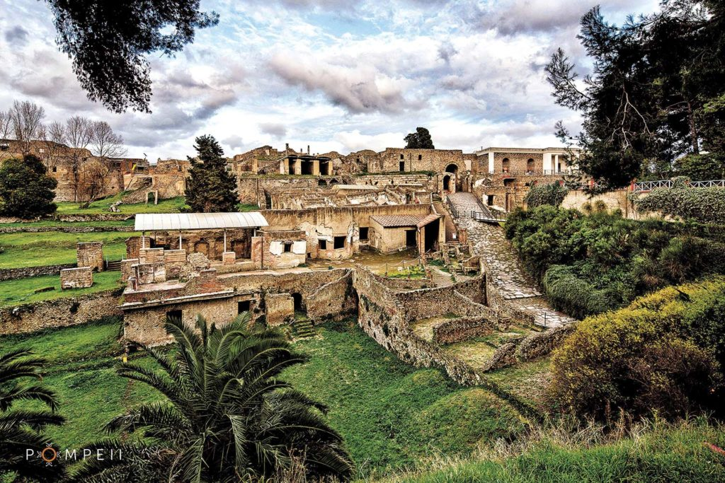 the archeological site of Pompeii, Gateway to Ancient ...