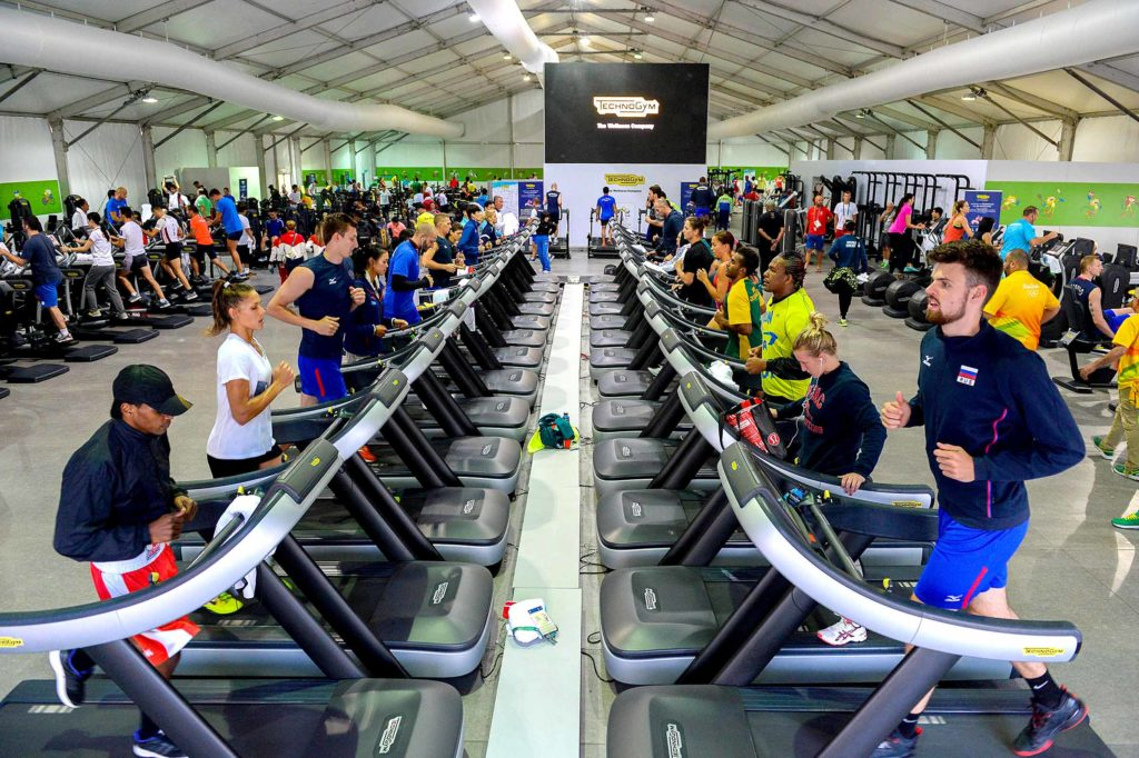 Technogym supplier of the Olympic Games