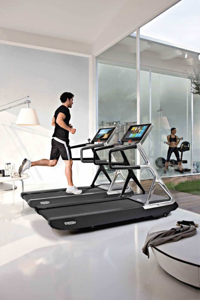 Technogym running