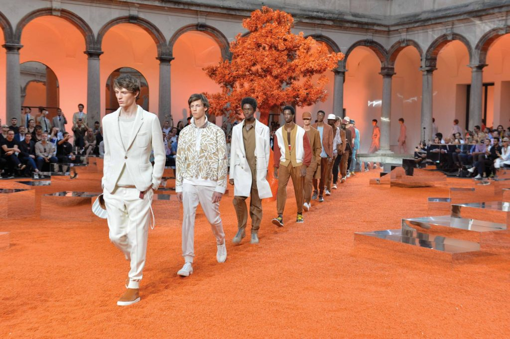 Ermenegildo Zegna 2018 Menswear Collection