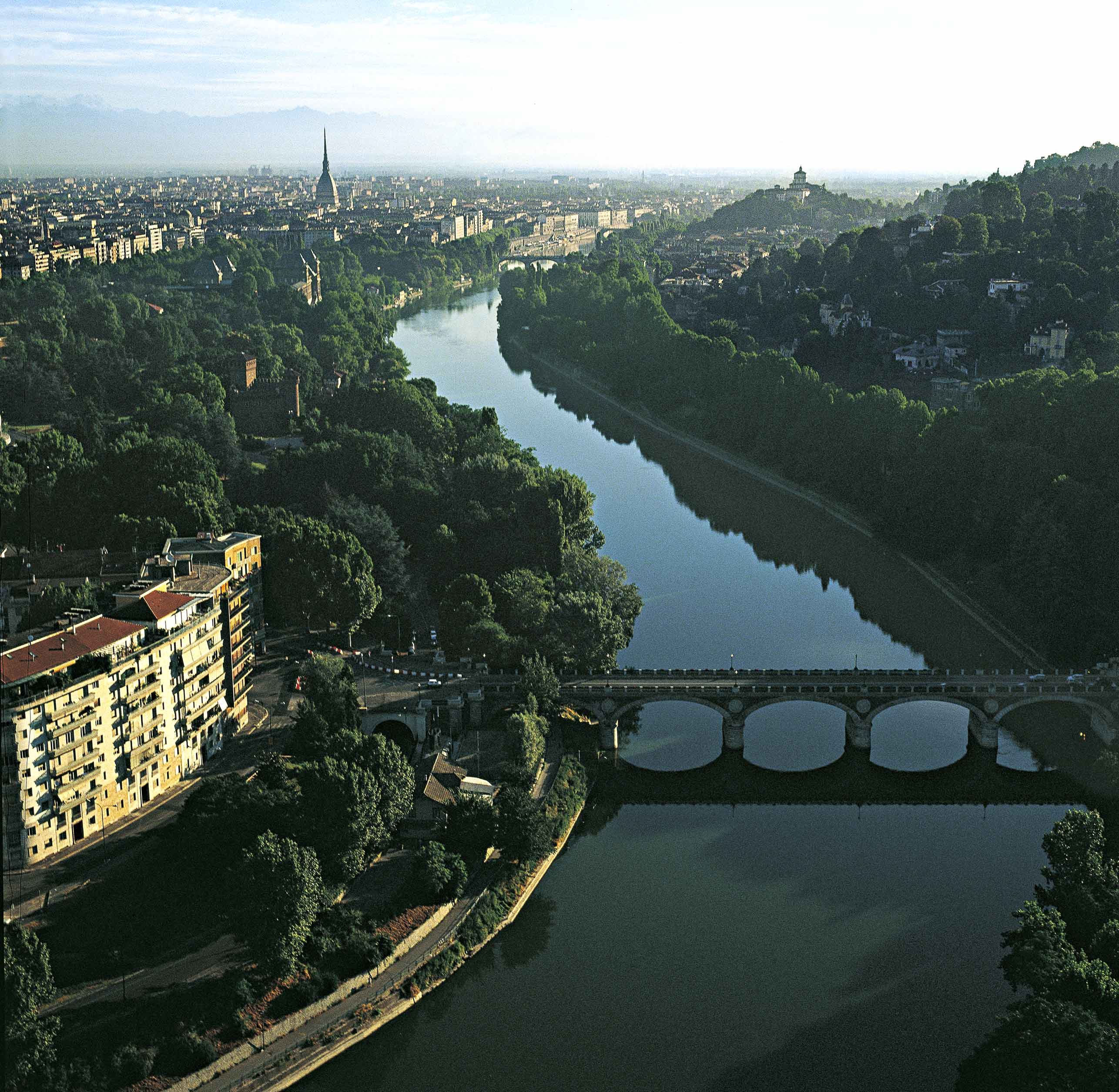 Torino The Magical City Under The Alps My Italian Link - Po river