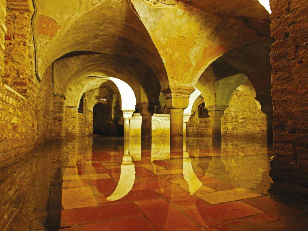 The Crypt of San Zaccaria, Venice
