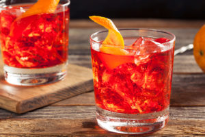 Of all the Italian Cocktails, the Negroni is one of the strongest