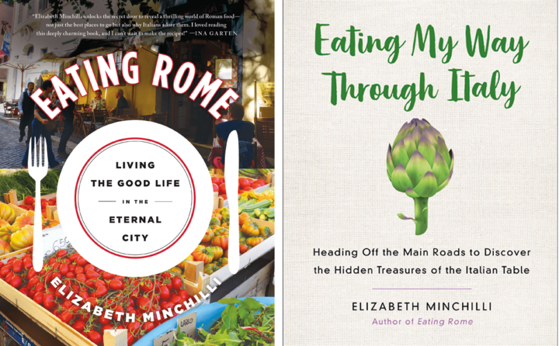 Eating Rome by Elizabeth Minchilli, Book Titles