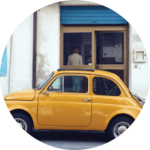 The iconic Fiat 500
