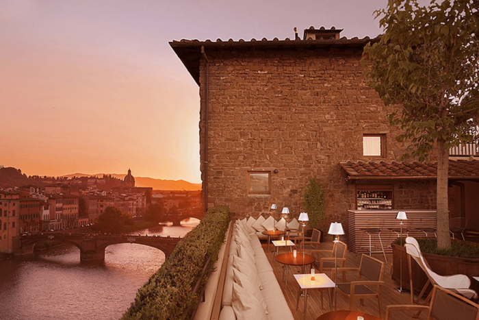 View from La Terrazza in Florence