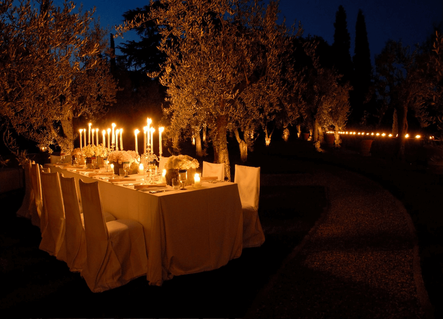 Dinner at Il Palagio