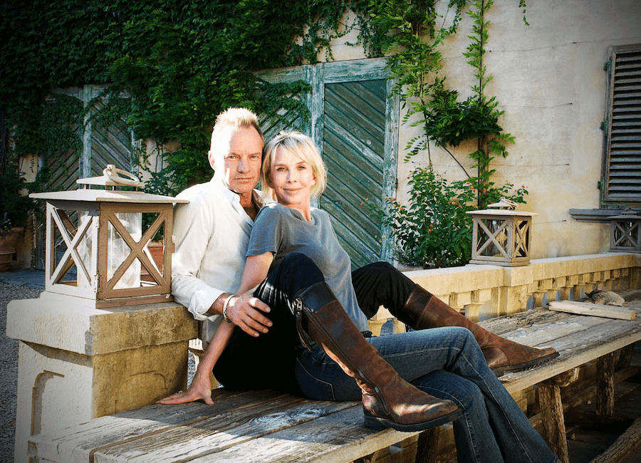 Sting and Trudie Styler Il Palagio