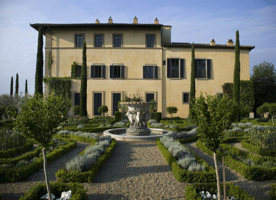 The Il Palagio Villa in Tuscany