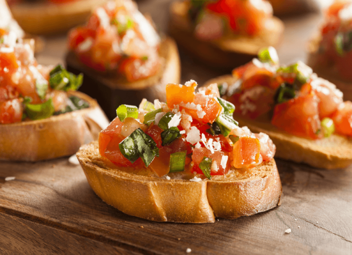 What to eat in Rome: Bruschetta
