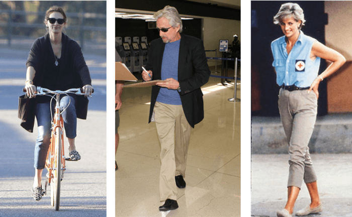 Tod's shoes have been worn by Julia Roberts, Michael Douglas and Lady Diana