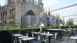 Sales Season in Italy: La Rinascente Milan Rooftop Cafe